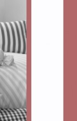 Vichy-Bettwäsche-bordeaux-rot-Classic-Stripes