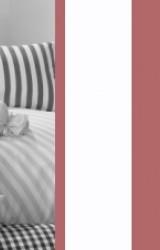 Vichy-Bettwäsche-bordeaux-rot-Classic-Stripes
