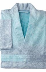 Curt-Bauer-Damenmorgenmantel-Aurora-türkis-blau