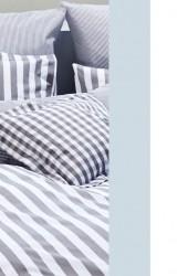 Elegante-Bettwäsche-Classic-Stripes-hellblau