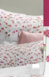 Graser-Bettwäsche-Sea-Pink-Des.-2-Feinsatin-beaujolais
