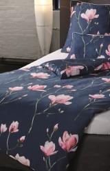 Pfeiler-Bettwäsche-Pink-Magnolia-Satin