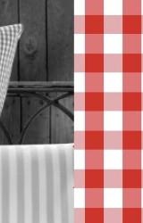 Vichy-Bettwäsche-rot-Classic-Karo