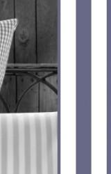 Vichy-Bettwäsche-marine-blau-Classic-Stripes