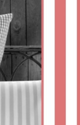 Vichy-Bettwäsche-rot-Classic-Stripes