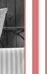 Vichy-Bettwäsche-rot-Classic-Stripes