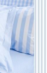 Vichy-Bettwäsche-Classic-Stripes-small-bleu-Mako-Perkal