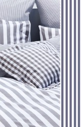 Vichy-Bettwäsche-Classic-Stripes-small-marine-blau-Mako-Perkal