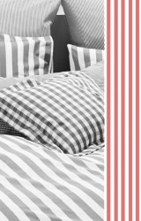 Vichy-Bettwäsche-Classic-Stripes-small-rot-Mako-Perkal