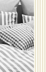 Vichy-Bettwäsche-Classic-Stripes-small-sand-Mako-Perkal