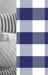 Vichy-Bettwäsche-marine-blau-Vichy-Karo