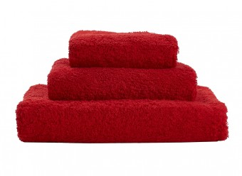 Abyss-Habidecor-Handtücher-Super-Pile-rouge