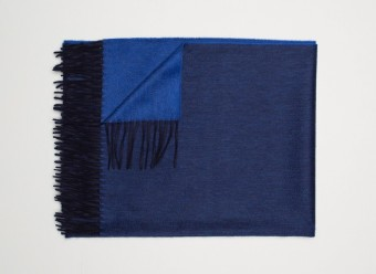 Begg-Kashmir-Plaid-Arran-Reversible-Navy-Sapphire