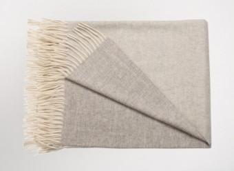 Begg-Kashmir-Plaid-Arran-Reversible-White-Silver