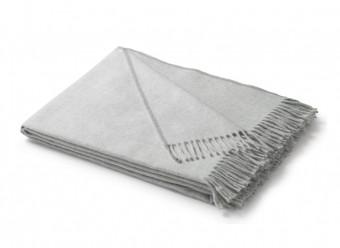 Biederlack-Baumwollplaid-Uni-silber