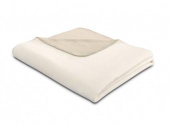 Biederlack-Plaid-Duo-Cotton-ecru-feder