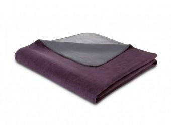 Biederlack-Plaid-Duo-Cotton-holunder-basalt