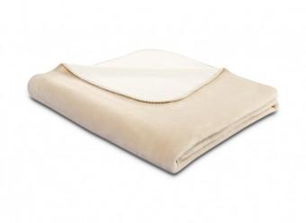 Biederlack-Plaid-Duo-Cotton-mousse-ecru