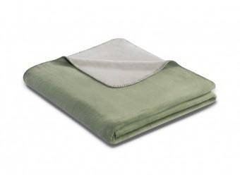 Biederlack-Plaid-Duo-Cotton-salbei-rauch