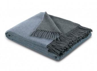 Biederlack-Plaid-Kaschmir-blau-grau