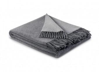 Biederlack-Plaid-Kaschmir-grau-silber