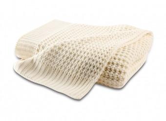 Biederlack-Plaid-Knit-ecru