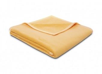Biederlack-Plaid-Pure-Cotton-gelb