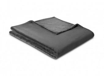 Biederlack-Plaid-Soft-&-Cover-anthrazit