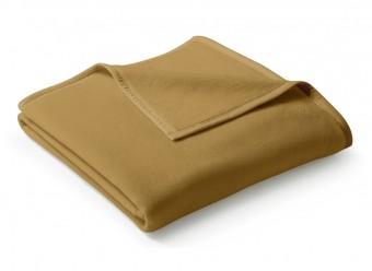 Biederlack-Plaid-Uno-Cotton-camel