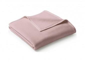 Biederlack-Plaid-Uno-Cotton-rosa