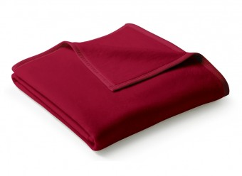 Biederlack-Plaid-Uno-Cotton-samtrot