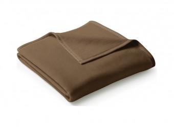 Biederlack-Plaid-Uno-Cotton-schoko