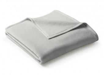 Biederlack-Plaid-Uno-Cotton-silber