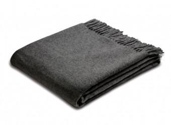 Biederlack-Plaid-Wool-anthrazit