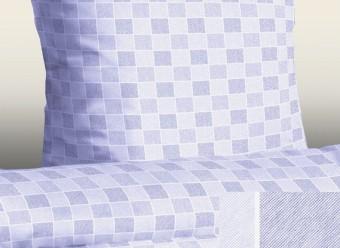 Jersey-Bettwäsche-Casa-Classic-Karo-blau