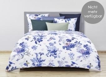 Christian-Fischbacher-Bettwäsche-Floralpin-Satin-blau-*SALDO*