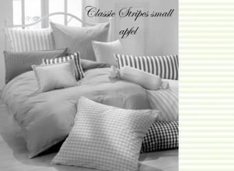 Vichy Bettwäsche apfel Classic Stripes small