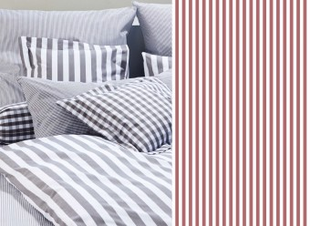 Elegante-Bettwäsche-Classic-Stripes-small-bordeaux