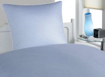 Elegante-Bettwäsche-Hamburger-Streifen-blau-weiß