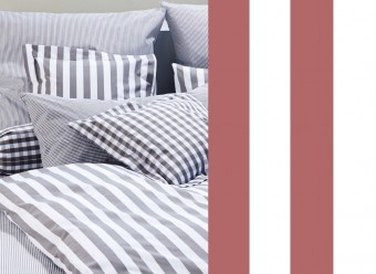 Elegante-Kinderbettwäsche-Classic-Stripes-bordeaux