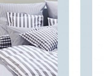 Elegante-Kinderbettwäsche-Classic-Stripes-hellblau