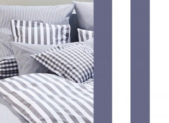 Elegante-Bettwäsche-Classic-Stripes-marine