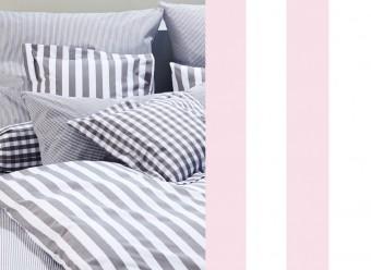 Elegante-Kinderbettwäsche-Classic-Stripes-rosa