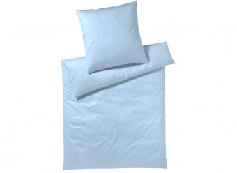 Elegante-Bettwäsche-Solid-Jersey-Interlock-Jersey-hellblau