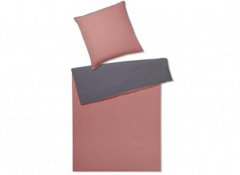 Elegante-Bettwäsche-Touch-Leinen-ziegel