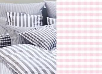 Elegante-Bettwäsche-Classic-Karo-small-rosa