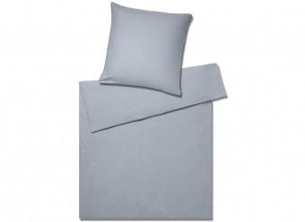 Elegante-Flanell-Bond-eisblau