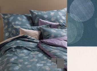 Graser-Bettwäsche-Lichtpunkte-Feinsatin-kiesel