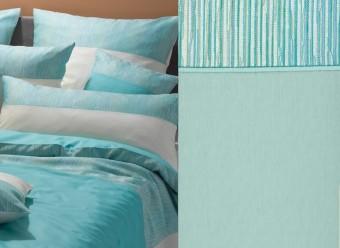 Graser-Bettwäsche-Prato-Feinsatin--opal-meergrün