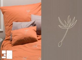 Graser-Bettwäsche-Pusteblume-chinchilla-Feinsatin